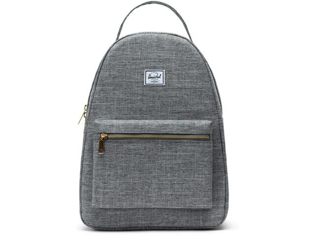 Herschel Nova Mid-Volume Backpack raven crosshatch